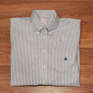 Brooks Brothers L/S Casual Button Down Shirt Sz L